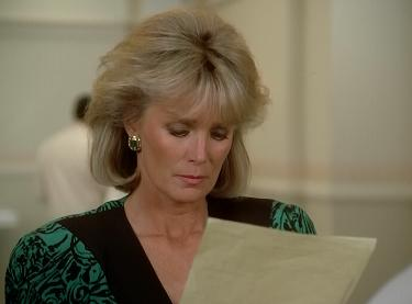 Linda Evans can't believe this script