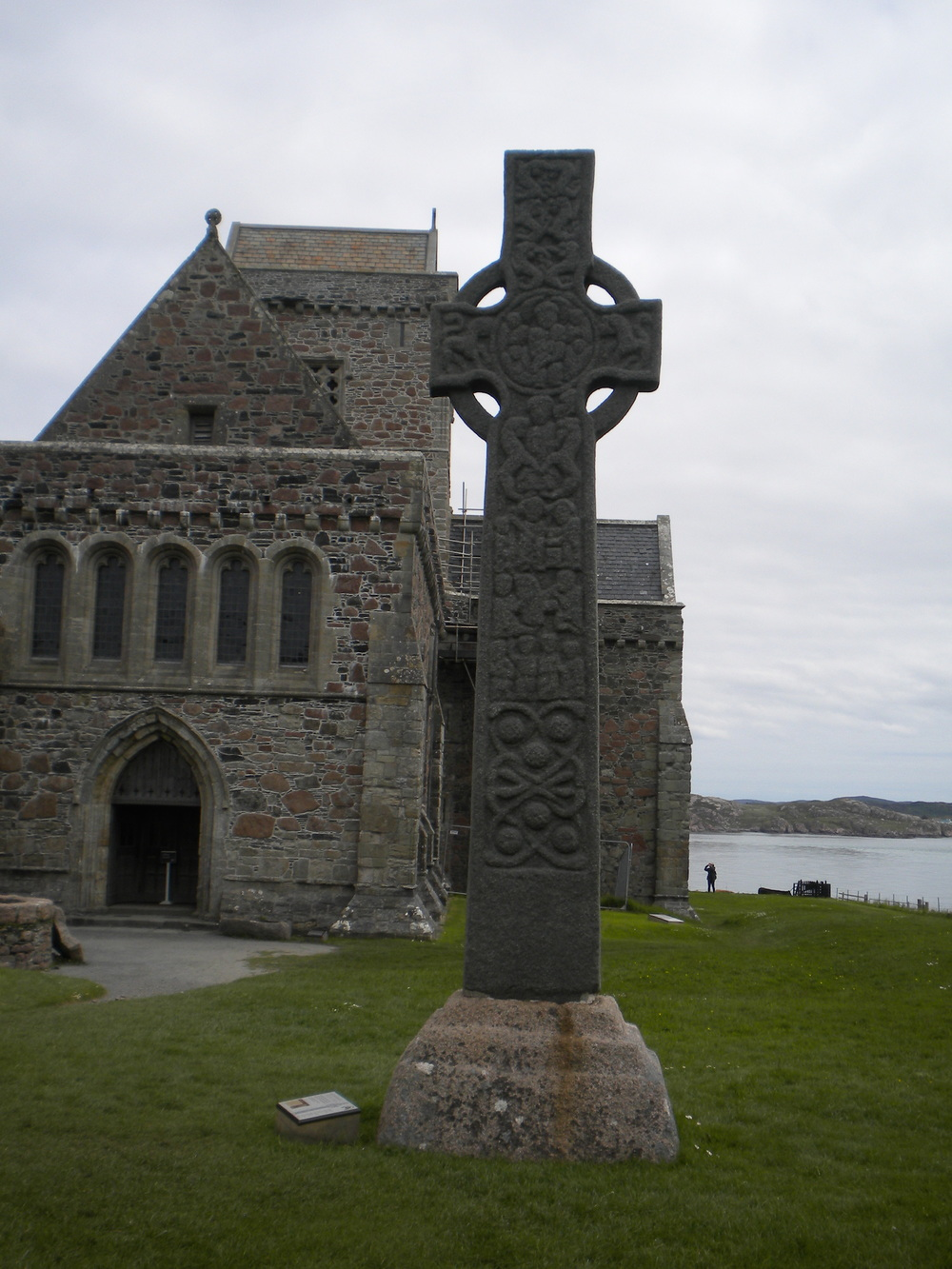 St. Martin's Cross on the Abbey grounds has stood on this spot for 1,200 years.