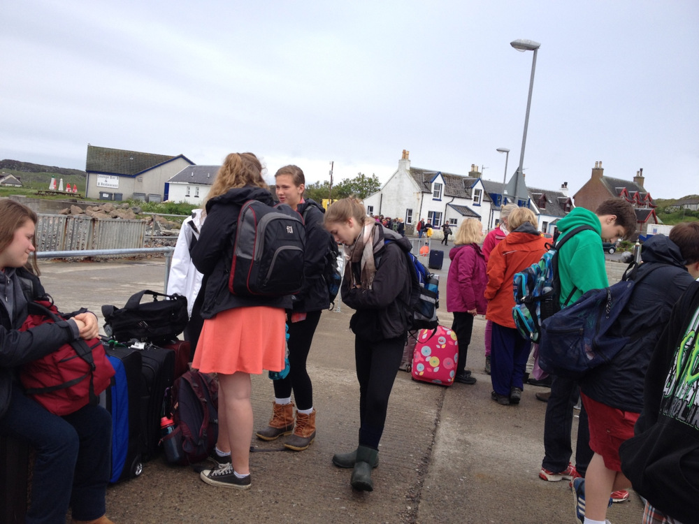 Leaving Iona