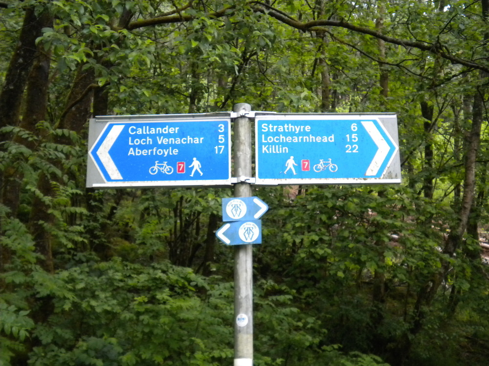 The West Loch Lomand Cycle Path