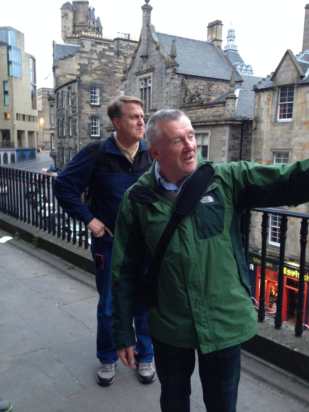 Saints and Sinners Tour, Edinburgh