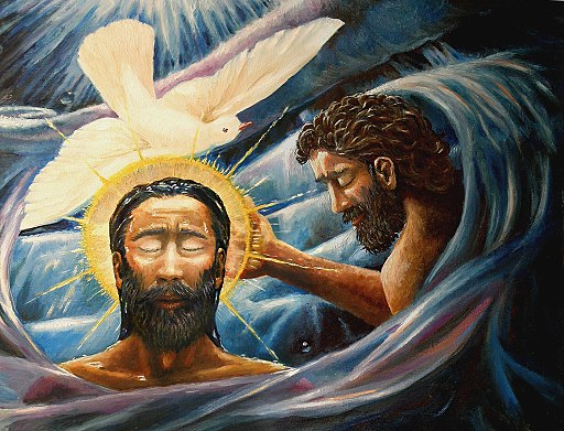 Baptism of Christ, Image by David Zelenka