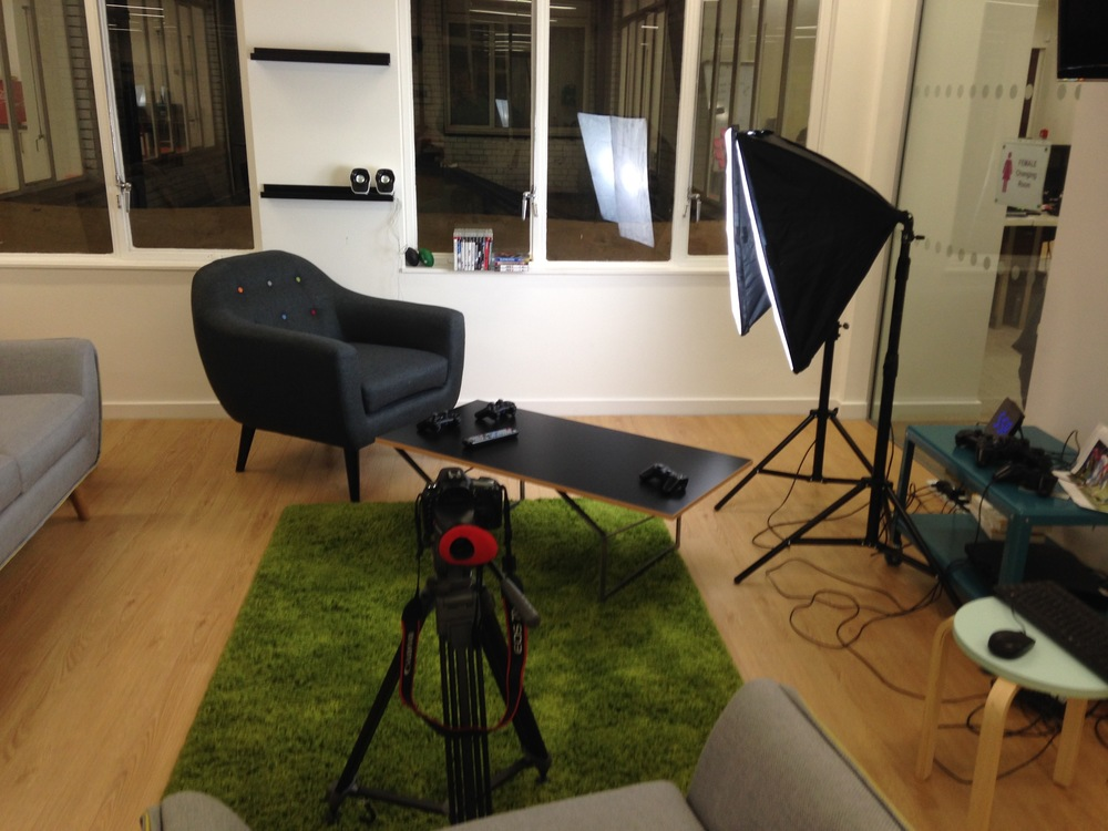 Setting up a shoot - this should be included in your hourly rate