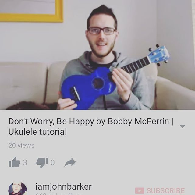 Check out my latest #ukulele #tutorial over on YouTube! Link in my profile!  Let me know in the comments if you have a song requests 😊