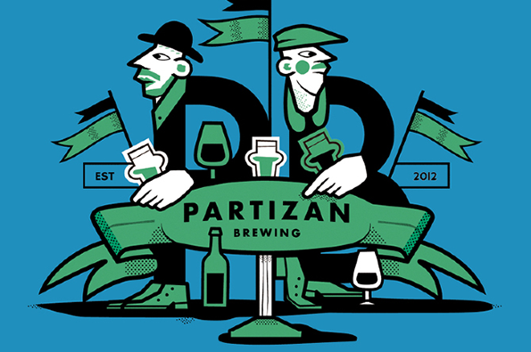 Partizan BrewingLondon, England - Andy Smith learnt his trade at Redemption brewery in Tottenham and has also spent some time as a chef. He has now set up his own brewery with the help of Kernel's old brewing kit and has been coming up with some fantastic beers. Thirst quenching and delicious Saisons and brilliantly balanced Pale Ales. Demand far outstrips supply so Biercraft is very lucky to get its hands on a few cases of it!Lemon & Thyme Saison, 330mlPale Ale, 330mlPorter, 330mlIndian Pale Ale 330ml