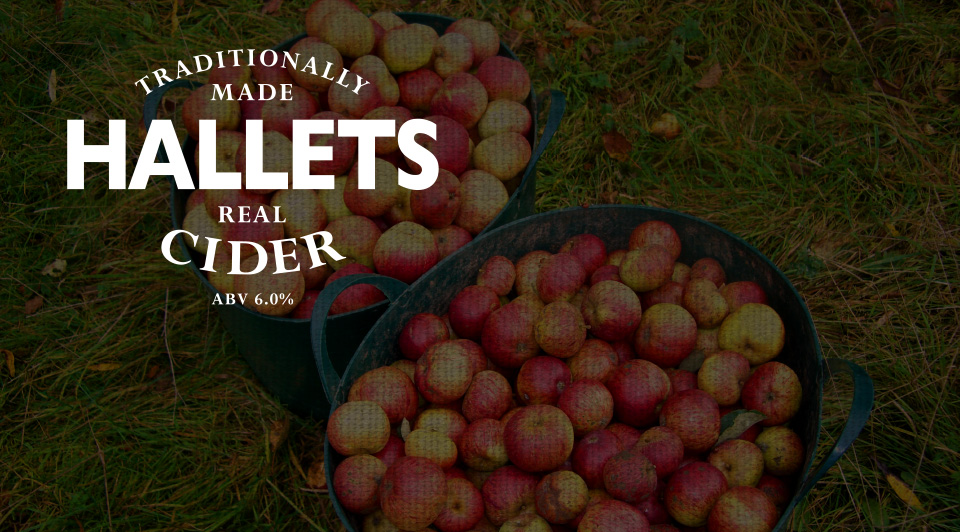 Hallets CiderCrumlin, Wales - Blaengawney farm is renowned for its altitude and cold weather, the perfect combination for producing fantastic apples. A lot of care and attention is applied to picking the best fruit each year and blending for the best flavour. Hallets are a small, independent cider maker and their output is purposefully low which makes their cider hard to find. Biercraft is delighted to be working with them.Real Cider, 6%, 330mlPerry, 4.5%, 330ml