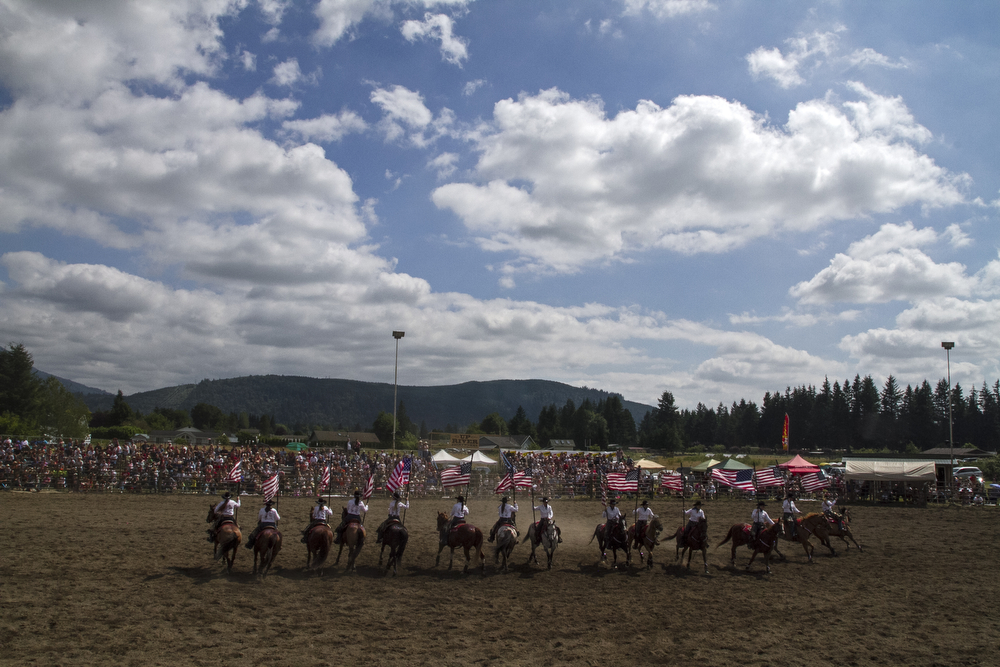 Sedro-Woolley's Loggerodeo Rodeo