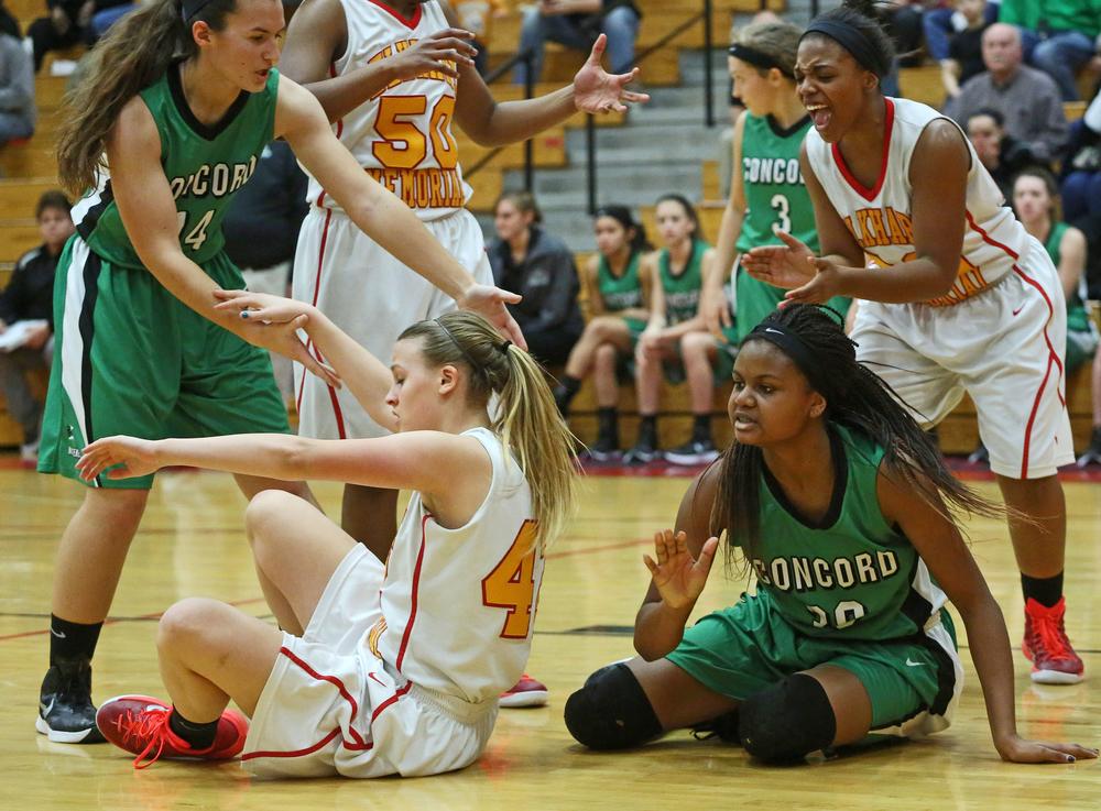 Concord Elkhart Memorial Girls Basketball 0781