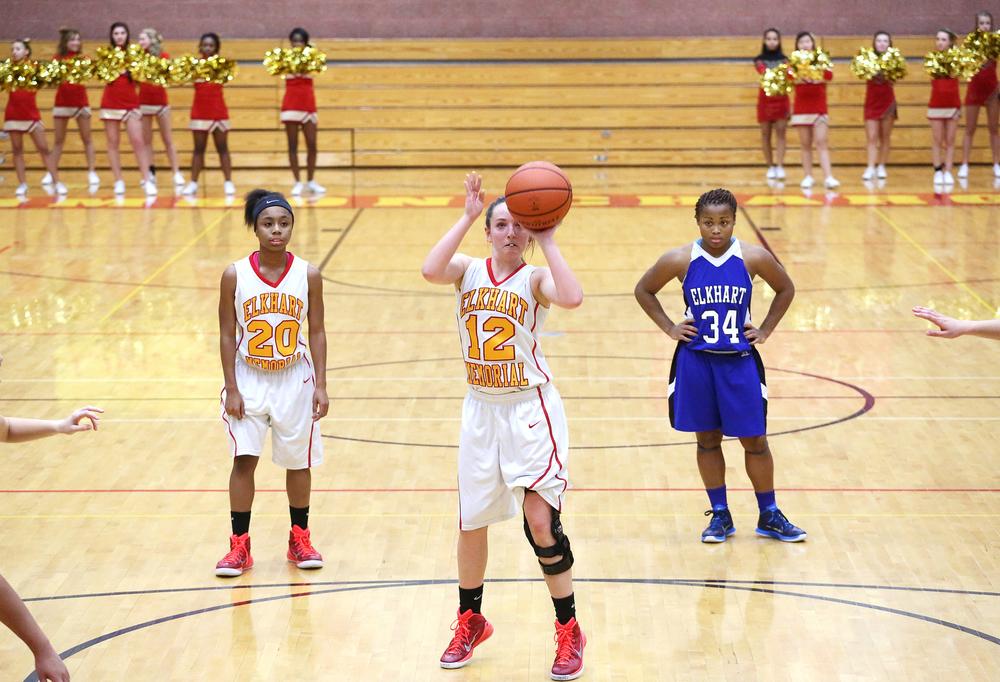Elkhart Central Memorial Girls Basketball 0382