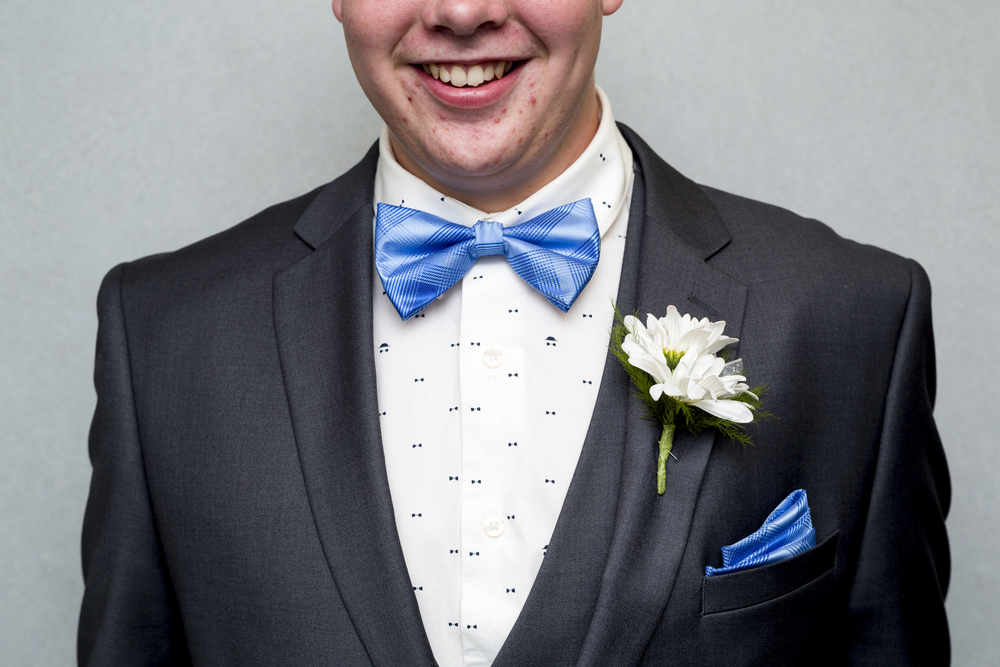 "Junior Nolan Pelfrey at the Grand Rapids City High School's prom Saturday, May 14, 2016, at Aquinas College in Grand Rapids, Mich. The theme was ""A Night in Venice."" (Nick Gonzales 