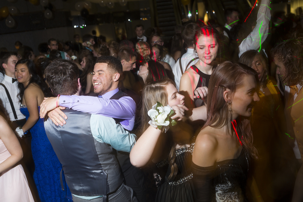 "Scenes from West Ottawa High School's prom Saturday, April 30, 2016, at Ridgewater Place in Grand Rapids, Mich. The theme was ""Great Gatsby."" (Nick Gonzales 
