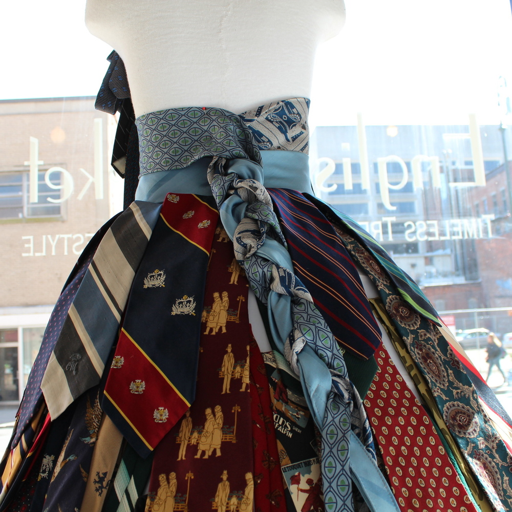 The Tie Dress--In Back