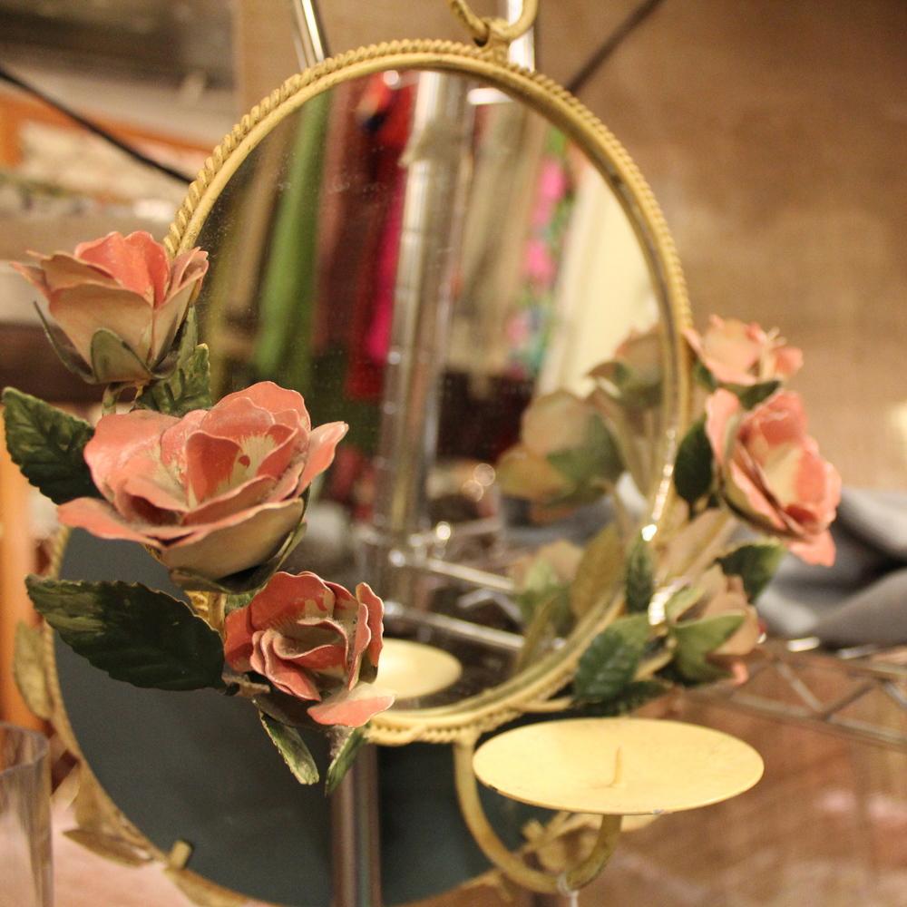 Floral Mirror
