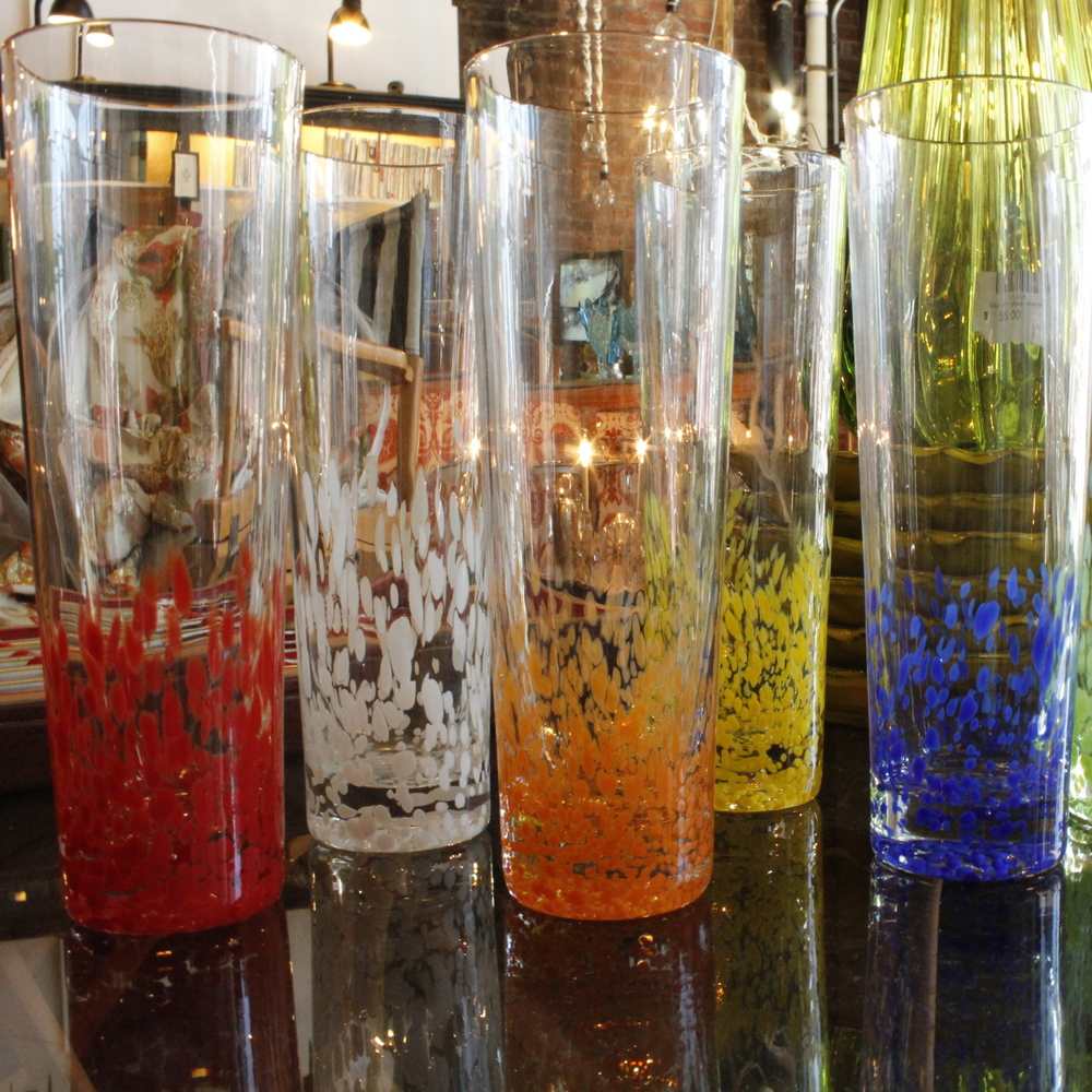 Funky Colored Glasses Set