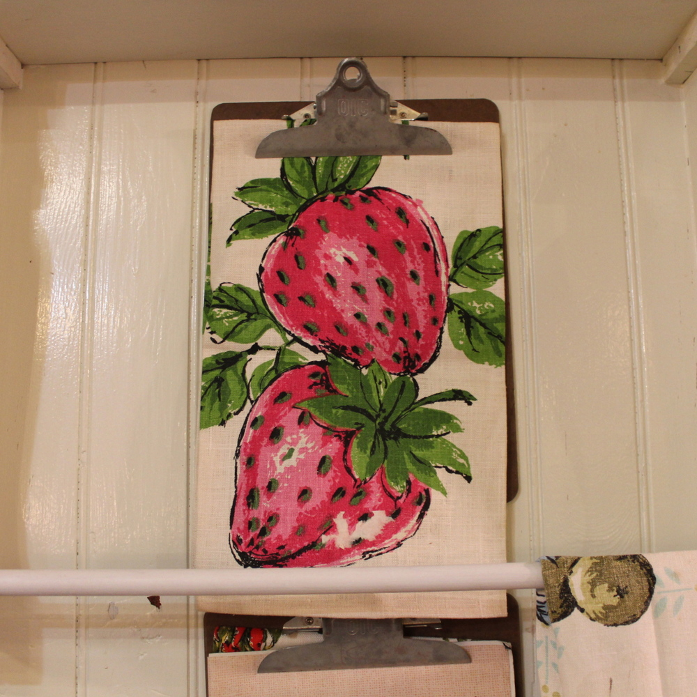 Strawberry Dish Towel
