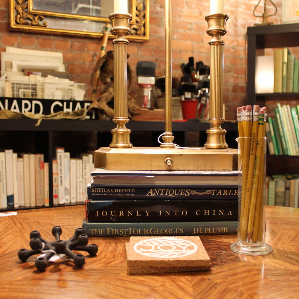 Antique Library Display