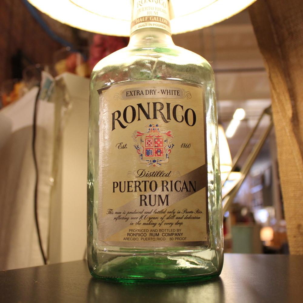 Rum Bottle Lamp