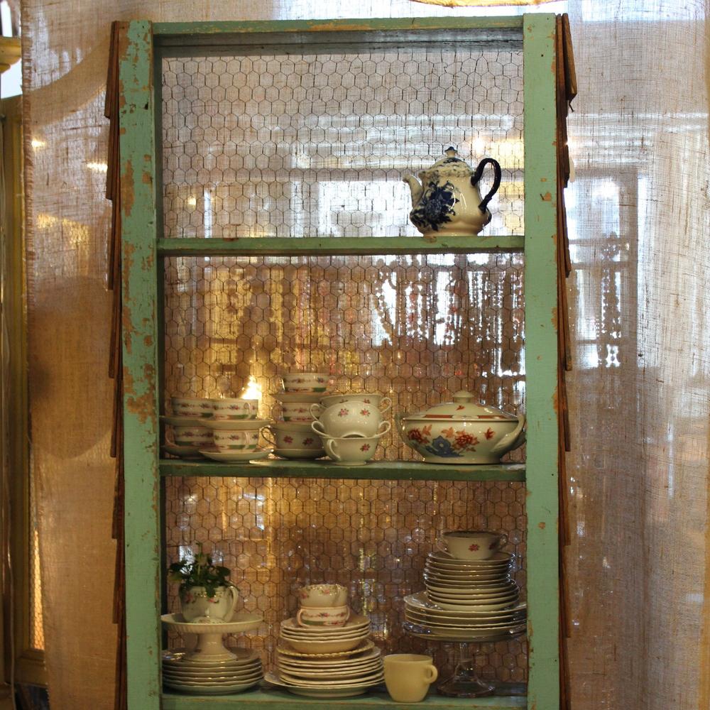 Handmade Shingled Shelf