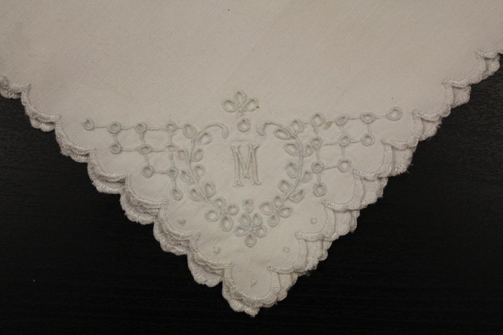 M monogrammed napkins
