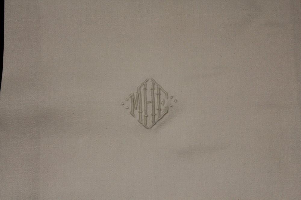 MHE Monogrammed Napkins