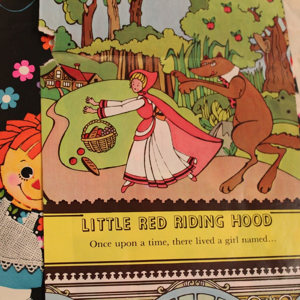 Little Red Riding Hood Wrapping Paper