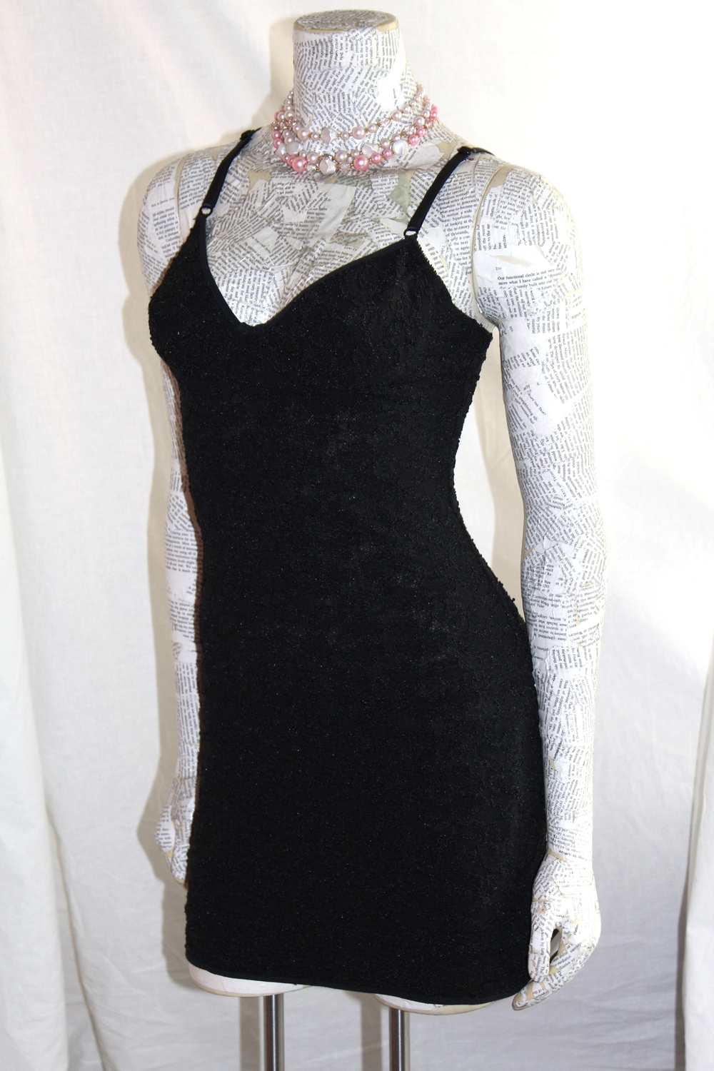 Black Stretch Lace nightie