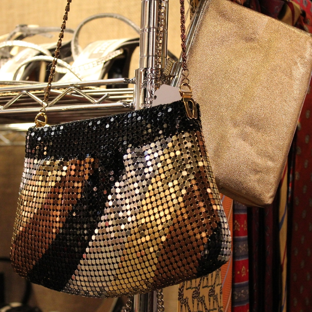 Glam Metallic Purse