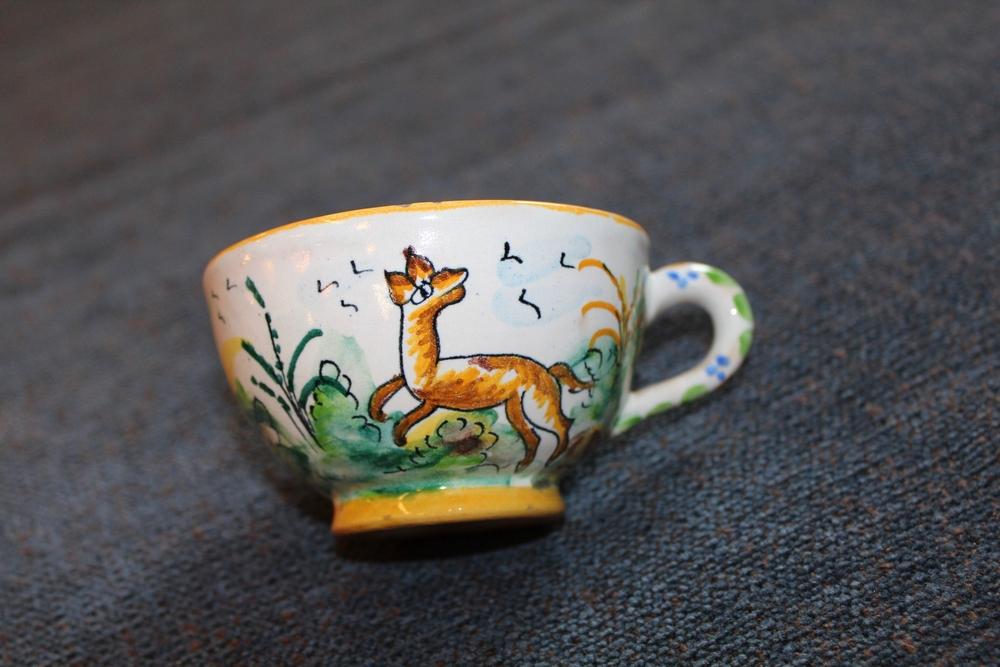 Handpainted Spanish Teacup