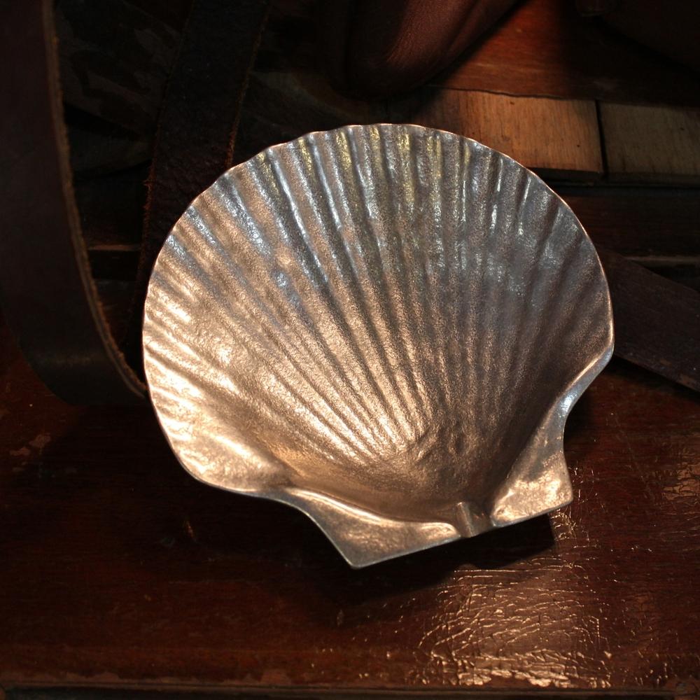 Silver Shell Dish