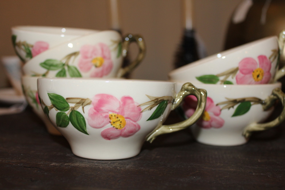 Desert Rose Teacups