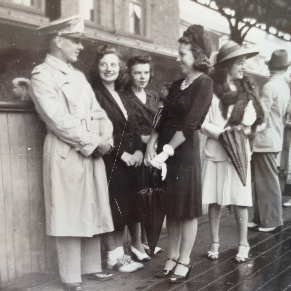 Hartford RR Station, Aug. 8, 1944