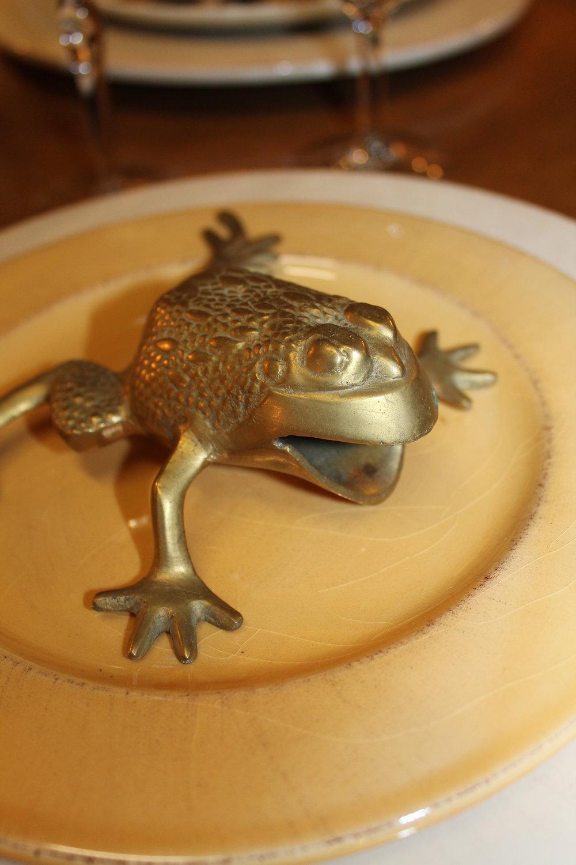 Brass Frog
