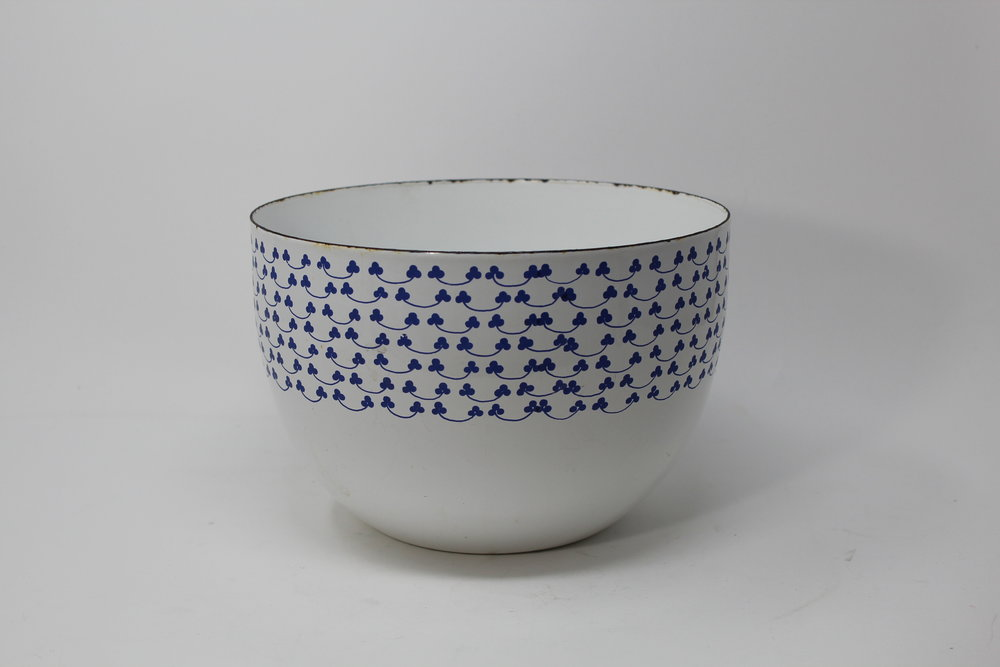 Arabia Blue & White Bowl