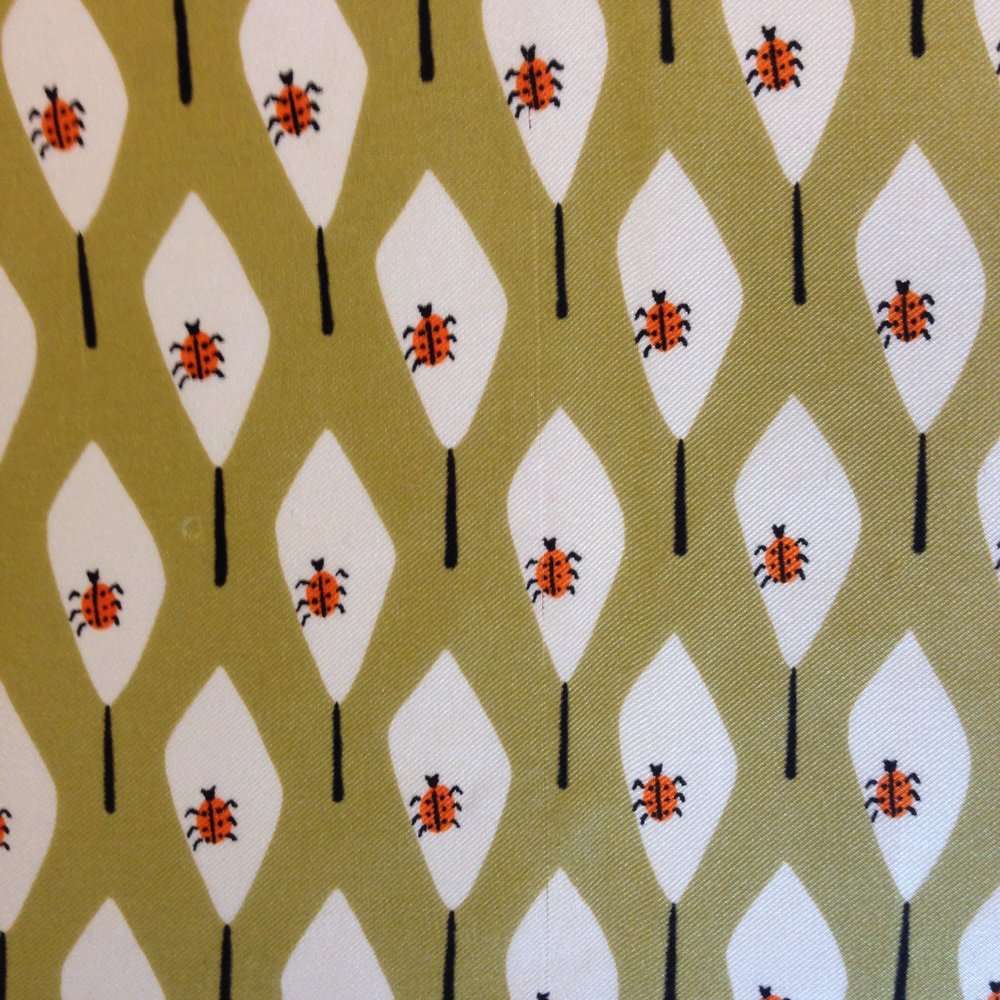 Iconic Ladybug Print Vera Scarf - SOLD