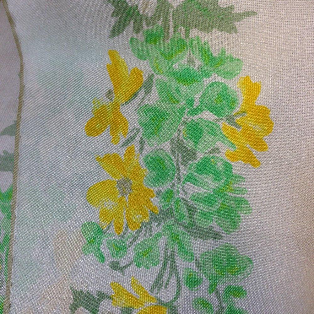Fringed Floral Vintage Vera Scarf