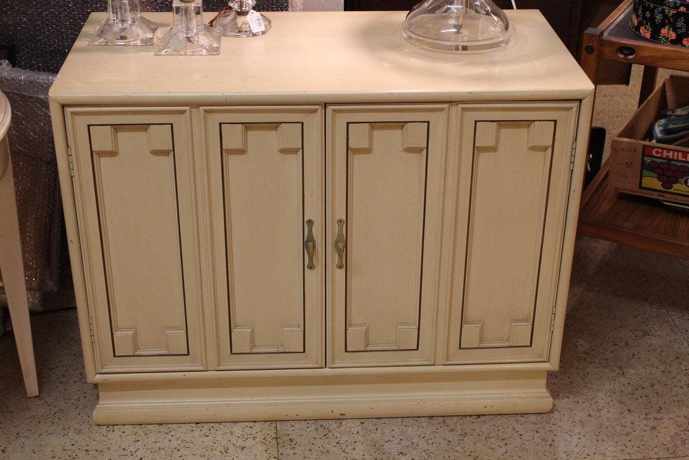 Vintage White Cabinet