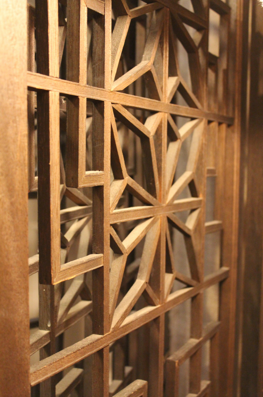 Wooden Screen