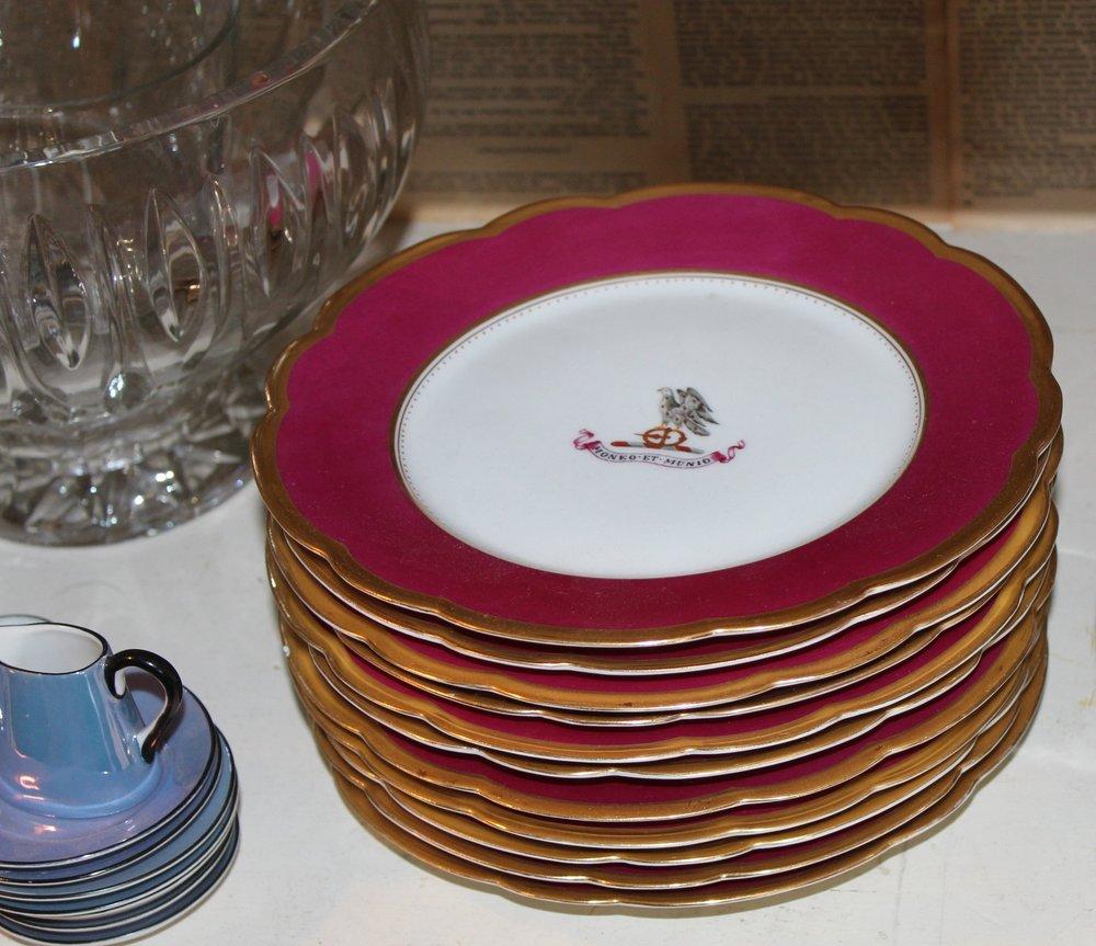 Chamberlain China Plates