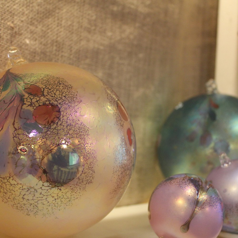 Handblown Polish Ornament