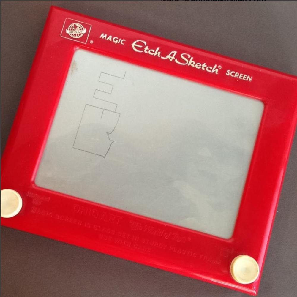 Magic Etch-A-Sketch