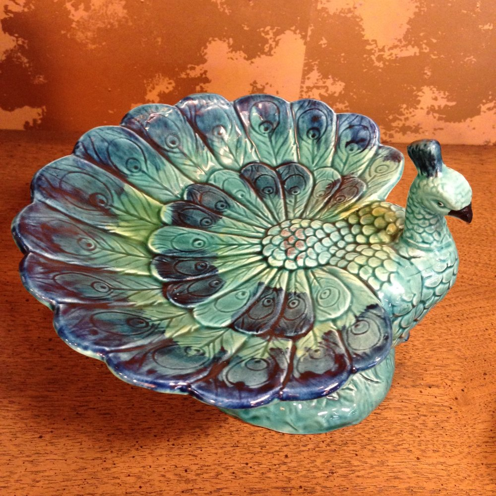 Peacock Candy Dish