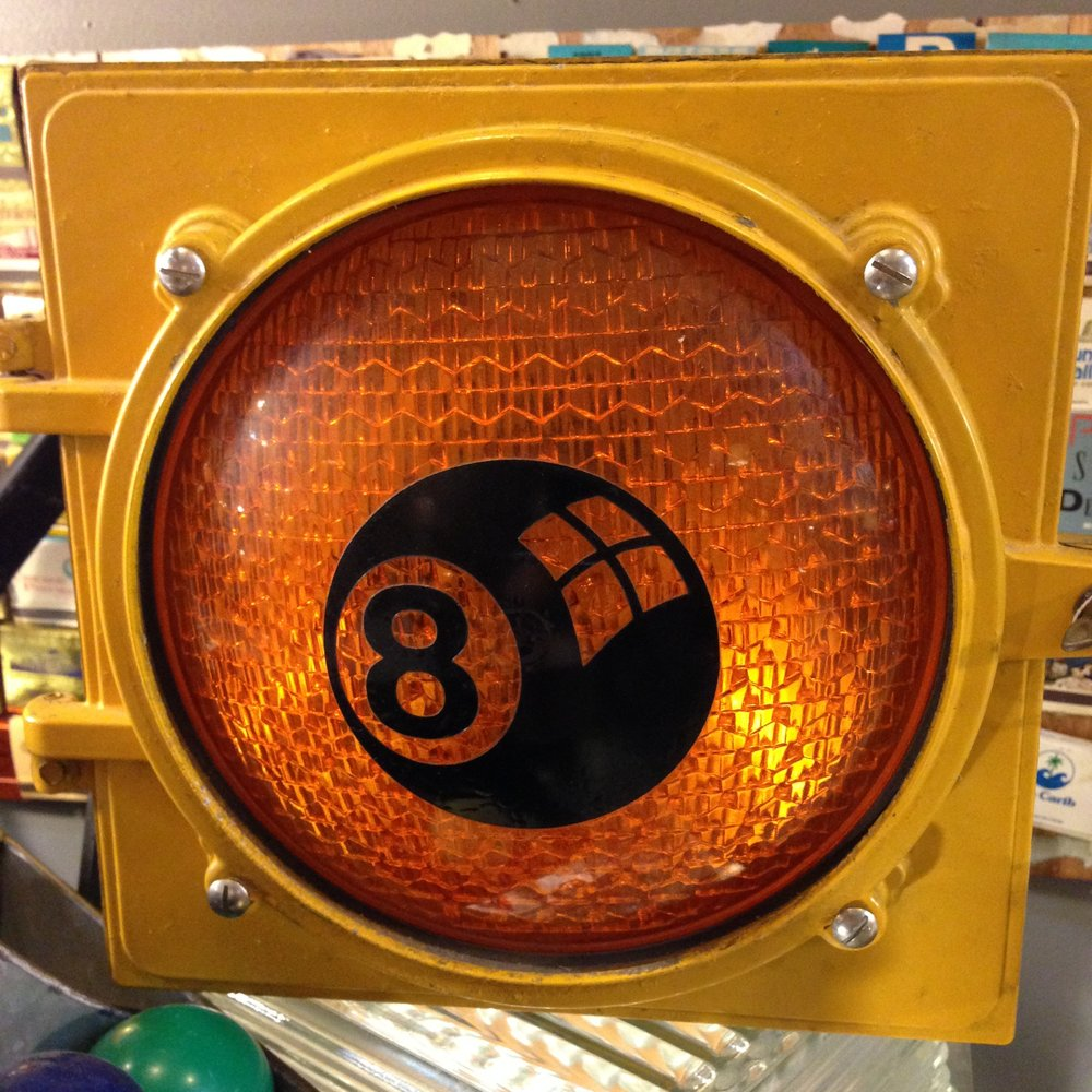 Eight Ball Traffic Light