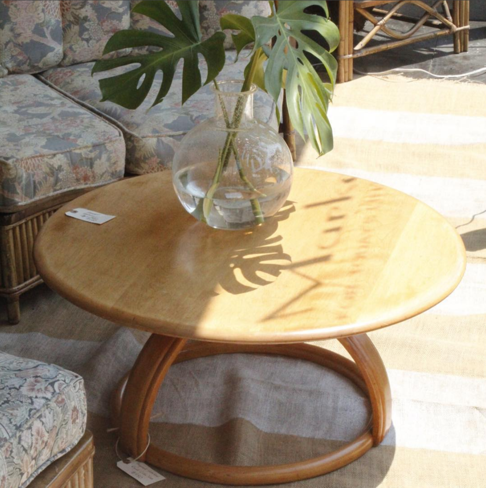 Ha=eywood Wakefield Round Coffee Table