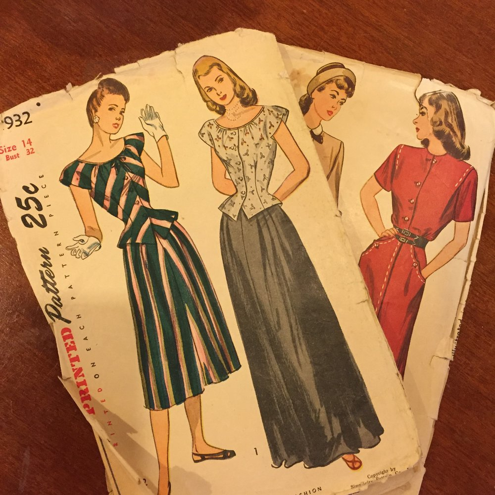 Vintage Simplicity Sewing Patterns