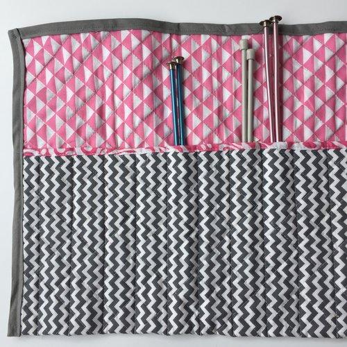 Ebm Vintage New Haven Craft Making Knitting Needle Case