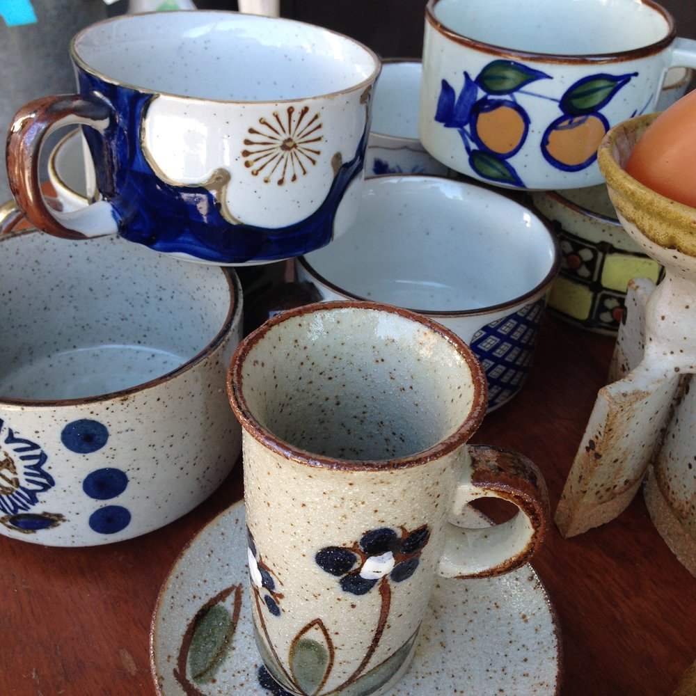 Ceramic Chowder Mugs