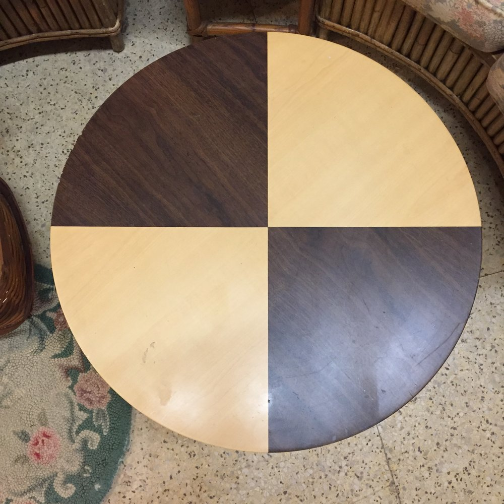 Small Folding Round Table
