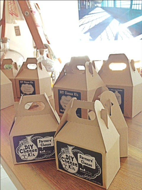 Get Cheesy. Our DIY Cheese Kits have arrived and we have a feeling some of you will be hosting some fun cheese-making parties over the next little while.  Be sure to send/tweet/facebook pics of your creations.
