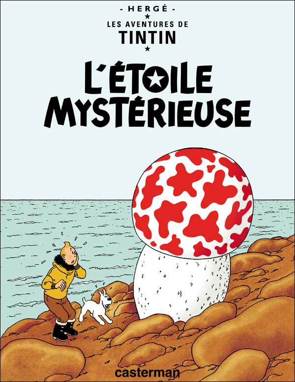 Hergé - L'étoile Mystérieuse