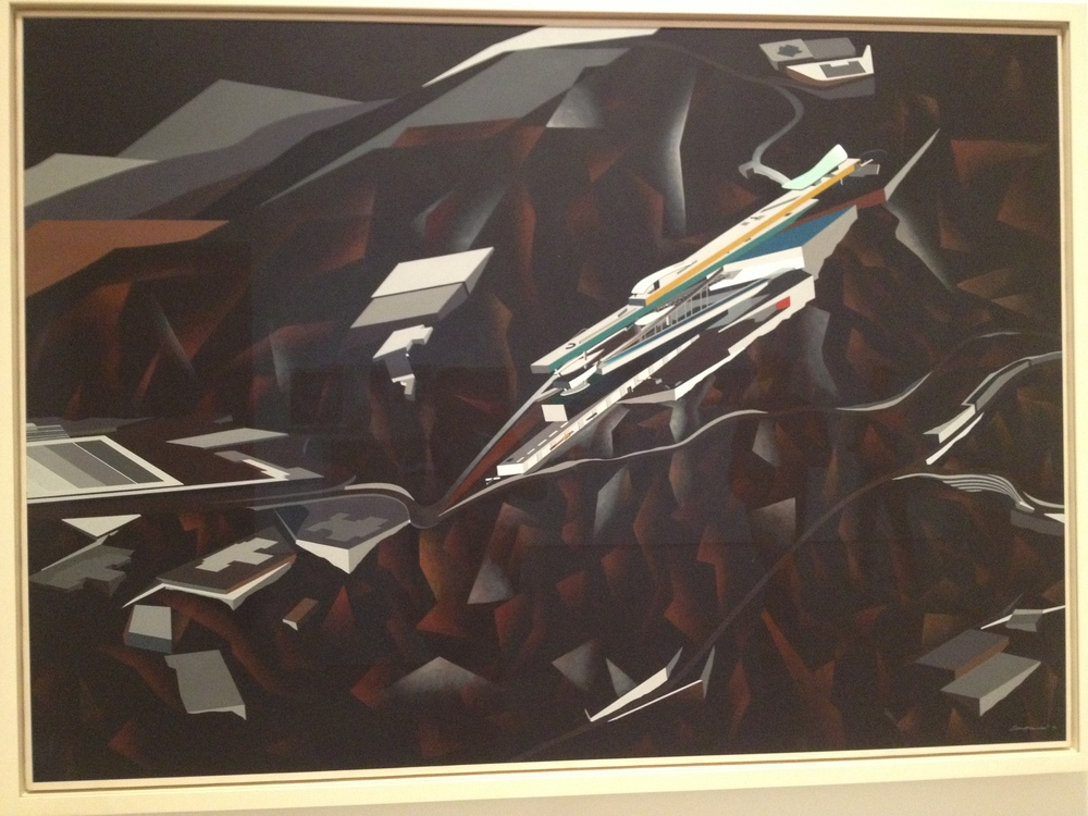 The Peak - Zaha Hadid (Moma)